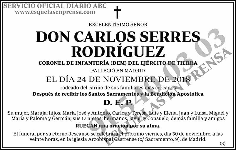 Carlos Serres Rodríguez